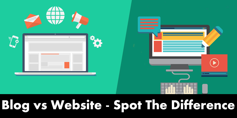 Blog vs Website-Spot the Difference